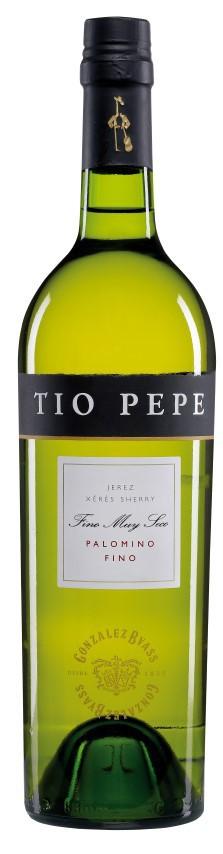 Tio Pepe jerez 6 botellas