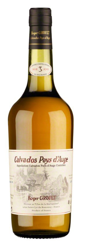 Calvados 3 años  Roger Groult